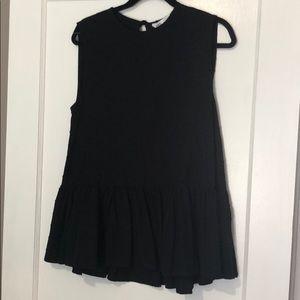 Zara sleeves Dolly Top NWT